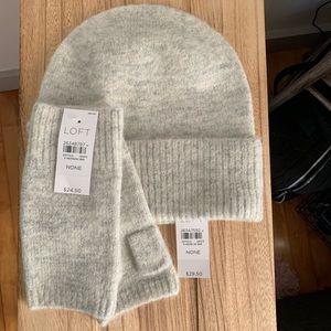 LOFT Hat & Glove Set